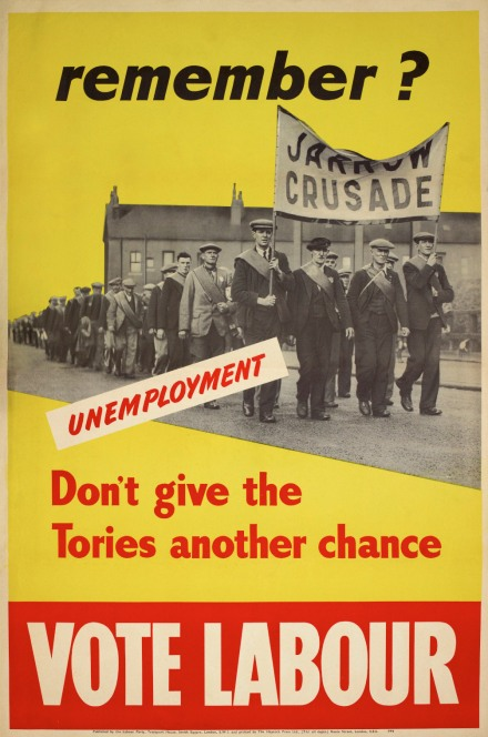 1950 Labour Election Poster, People's History Museum
